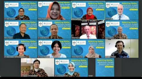 The International Tourism Research Webinar, Trisakti School of Tourism